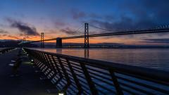 San Francisco - Oakland Bay Bridge (PMillera4) Tags: sanfranciscooaklandbaybridge baybridge bridge sanfrancisco oakland sunrise pier14