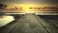 Beachmere, Queensland, Australia (Aaron Bishop Photography) Tags: sunrise beachmere ramp queensland beach landscape ngc clouds