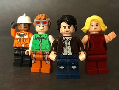 The Adventures of Clutch Powers (Colbsfigs) Tags: lego clutch powers nostalgia minifigures custom colbyfigcustoms