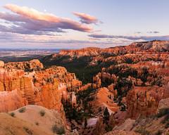 Bryce Canyon National Park       Twilight (JB_1984) Tags: brycepoint hoodoo geologicalformation rockformation colour orange canyon evening twilight nationalpark brycecanyonnationalpark brycecanyon utah ut usa unitedstates nikon d500 nikon500