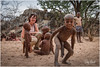 Intrigued by the camera (RudyMareelPhotography) Tags: africa camp himba himbanamibia natgeotravel ondjongodance rudymareelphotography vanz vanzyls vanzylspass ngc travel travelphotography wanderlust kuneneregion namibia flickrclickx flickr