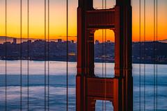 Golden Gate Bridge | San Francisco (dawvon) Tags: westpacificstates landscape bridge northamerica pacificocean water city cityscape goldengatebridge magichour suspensionbridge sunrise california marinadistrict bluehour ocean sanfrancisco travel financialdistrict twilight palaceoffinearts goldengate seascape unitedstates nature pacific america cityandcountyofsanfrancisco dawn frisco goldenhour halflight pacificstates sf sanfran stateofcalifornia strait thecity thegoldenstate theunitedstates theunitedstatesofamerica us usa unitedstatesofamerica sea sausalito