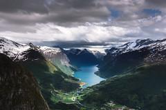 Lovatnet, Norway (webeagle12) Tags: europe norway nikon d7200 tokina mountains stryn loen lovatnet lake snowpeaks sogn og fjordane