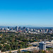 View of the LA area skyline, looking East from the Getty Center.