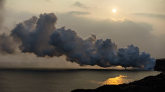 Magma Meets the Ocean (Polylepis) Tags: bigisland kilauea lava eruption pacific ocean hawaii sonnar5518za zeiss sony sbcc2017 volcano volcanic