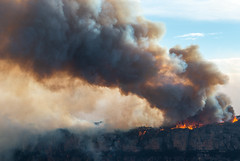 Plateau on Fire (benpearse) Tags: ben pearse photography blue mountains professional australian nsw photographer ruined castle bushfire katoomba december 2019 narrowneck plateau jamison valley documentary fires rfs national parks wildlife world heritage 1st drought climate change
