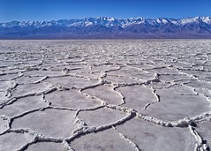 Bad Water Death Valley B (jim.choate59) Tags: jchoate on1pics badwater deathvalleycalifornia salt desert mountains dry hot cellphone pixel4 landscape