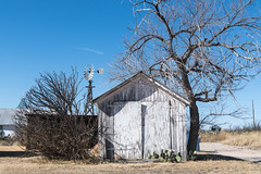 Shed,, Marathon, Texas