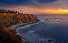 Point Vicente Lighthouse - Rancho Palos Verdes (Candice Staver Harris) Tags: longexposure sunset seascape landscape cliffs southerncalifornia southbay losangelescounty ranchopalosverdes pointvicentelighthouse lighthouse bluehour