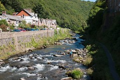Photo of East Lynn River. Lynmouth