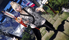 Samue 作務衣 (kyoka jun) Tags: voice samue okinawanewyearfestival hair kmhhair japonicahunt japonica winter hamaya mimify zouri exia zourisuzu maitreya secondlife sl secondlifefashion secondlifeblog japanase kimono