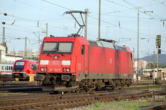 DB 185 366 Basel Bad (daveymills37886) Tags: db 185 366 basel bad baureihe bombardier traxx ac2