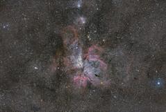 Nebulosa de Carina (Cristian Benaprés M) Tags: astrophotography astrofotografia fotografia chile etacarina pixinsight photoshop deepskystacker sky stars southamerica astrometrydotnet:id=nova3859405 astrometrydotnet:status=solved