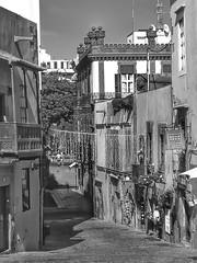 Calle Herreria (AxellH1) Tags: black white blackandwhite schwarz weis blanco y negro bw spanien espana spain kanarische inseln canary islands islas canarias gran canaria las palmas