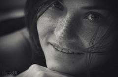 Pleased (RickB500) Tags: portrait girl rickb rickb500 model beauty expression face cute hair freckles bestportraitsaoi elitegalleryaoi