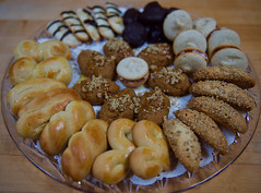Cookies for the New Year! (ineedathis, Everyday I get up, it's a great day!) Tags: twistcookies sesamecookies almondcookies coconutmacaroons macaronswithbuttercream greekhoneycookies μελομακαρονα κουλουρακια nikond750 baking sweets happynewyear 2020