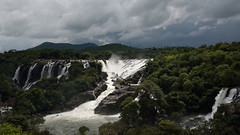 Shivanasamudra falls landscape. (draskd) Tags: shivanasamudrafalls gaganchukkifalls barachukki waterfalls kaveri cauvery river bangalore mysore mysuru bengaluru landscape charmarajnagar barachukkifalls