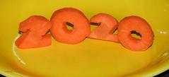 2020 HOMEMADE (garydavidworthington) Tags: liverpool 2020 smileonsaturday creative carrot plate yellow orange 2 carved art artistic colour cool nikon photography homemade 5aday