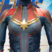Avengers Endgame Exclusive Store: Captain Marvel's Costume in Avengers Endgame