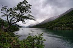 Lago del Desierto, Patagonia (StarCitizen) Tags: patagonia argentina water mountains clouds elchalten sky trees tree