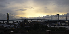 Outside the Window (erienliu) Tags: sweden gothenburg bridge view nordic