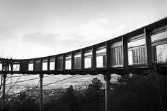 Bridge (Missing Pictures) Tags: black bw blackandwhite bridge sky wood wooden pannonhalmi hungary travel traveling construction geometry geometric explore explored exploring europe space white winter forest architecture architectural
