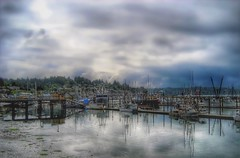 Reflections.... (Sherrianne100) Tags: reflections marina ships westcoast