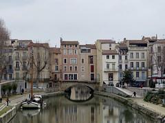 Le pont habité de Narbonne (@ngèle) Tags: france occitanie aude narbonne pont marchands maison canal robine romain sony dscrx100m3