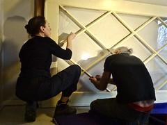 20200102 deur (enemyke) Tags: pixeldiary januari 2020 deur puerta door schuifdeur renovatie klus klusje glas ruiten retro design restauratie