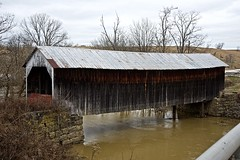 Covered Bridge near Grange, Kentucky (durand clark) Tags: coveredbridge floodedfoxcreek flood hillsborograngecoveredbridge flemmingcountykentucky ruralkentucky easternkentucky nikond750 kentuckycoveredbridge kentucky