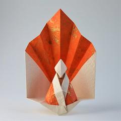 Buddha - Viviane Berty (pierreyvesgallard) Tags: buddha viviane berty origami paper papercraft meditation