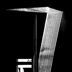 In the shadows (2n2907) Tags: shadow shadows lines underground contrast blackwhite bw minimal minimalistic minimalism dark beam beamoflight