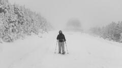 Strange world (Papaye_verte) Tags: canada québec montmégantic raquettes snowshoes neige snow téléscope observatoire observatory streetphotography