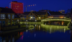 The fishing pier in Kristiansand (gormjarl) Tags: kristiansand wather lake fjord sunset beach water sky natur night art light sun cloud landscape street river otra norway city odderøy