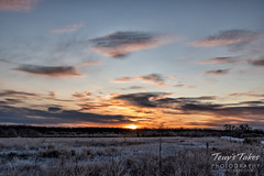 December 29, 2019 - A pretty sunrise at Cherry Creek State Park. (Tony's Takes)