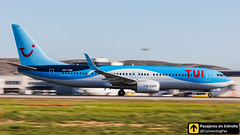 Boeing B737 Wanderlust TUI OO-TNB (ConnectingPax) Tags: airplane airplanes aircraft airport aviation aviones aviación boeing 737 b737 tui takeoff departure alicante alc leal spotting spotters spotter planes canon closeup panning