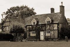 Church Cottage (clivea2z) Tags: unitedkingdom greatbritain england buckinghamshire chilternhills henleyonthames cottage church graves listedbuilding thyrefeld cliveardontz