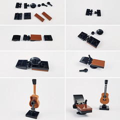 Tutorial Singer/Songwriter Furniture (Curry House MOC) (betweenbrickwalls) Tags: lego afol moc furniture furnituredesign design tutorial legotutorial instructions