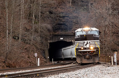 NS 194. Kimball, Wv. (danieljg241) Tags: ns194 pocahontasdistrict kimballwestvirginia sd70acc nd1811 norfolksouthern pokey railroad emd tunnel train freighttrain canon6d westviviantunnel