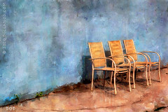 3 Chairs (sbox) Tags: chairs wall textures sbox declanod painterly painting blue