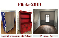 My 2019 Flickr Stats (Foxy Belle) Tags: flickr year stats 2019 dollhouse collage crafts