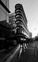 Chameleon Department Store. (patrykmichalskifotografia) Tags: modernism art déco wroclaw poland canon architecture architektura erich mendelsohn europa bw