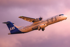 ES-ATI ATR 72-600 (72-212A) SAS Scandinavian Airlines (Andreas Eriksson - VstPic) Tags: esati atr 72600 72212a sas scandinavian airlines low afternoon sun clouds doesnt have be bad thing 72a vaasa