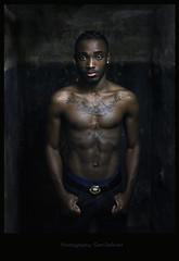 IMG_0939h (Defever Photography) Tags: blackmodel black blackmalemodel africa ivorycoast belgium ghent portrait inked tattoo tattoos chest fit malefitnessmodel