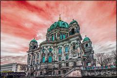 BERLINER DOM (01dgn) Tags: berlin berlinerdom domberlin hauptstadt germany deutschland almanya travel cathedral colors sky streetphotography weitwinkel wideangle canoneos77d