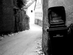 Who the f..k is HEINZ ? (Leica M6) (stefankamert) Tags: analog analogue grain bokeh blur blurra wall trashcan heinz freising noir noiretblanc blackandwhite blackwhite bw stefankamert leica m6 leicam6 summitar kodak trix street nopeople 122019