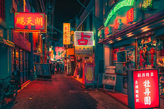 Bursts of Ambient Color (Anthony presley) Tags: japan night street japanese travel city asia architecture asian modern view road cityscape scene famous tokyo district urban downtown business evening tourism light building skyline landmark traditional twilight kyoto lights sky tourist tower background temple landscape culture lamp town scenery neon beautiful illuminated destination people scenic historical metropolis shrine traffic anthonypresley happy planet favorites happyplanet asiafavorites