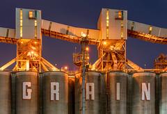 GRAIN (relux.) Tags: grainelevator industrial industry abandoned abandonedgrainelevator elevator mill
