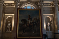 Portrait équestre du duc d'Orléans (Falcon_33) Tags: sony sonyalpha7mkiii a7mkiii sel35f18f france sudouest bordeaux raw arts painting jardindupalaisrohan muséedesbeauxartsdebordeaux