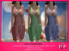 ::PCF:: Lolly Dungaree Short (pcfstoresecondlife) Tags: women event release tmp tonic isis outfit ocacin promo physique second secondlife sl store slink short fitmesh female freya girl hud hourglass jumpsuit life virtual virtuallife virtualstore venus belleza new maitreya mesh marketplace marketplacesl